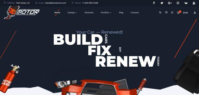 BrandCurb Auto Web Design